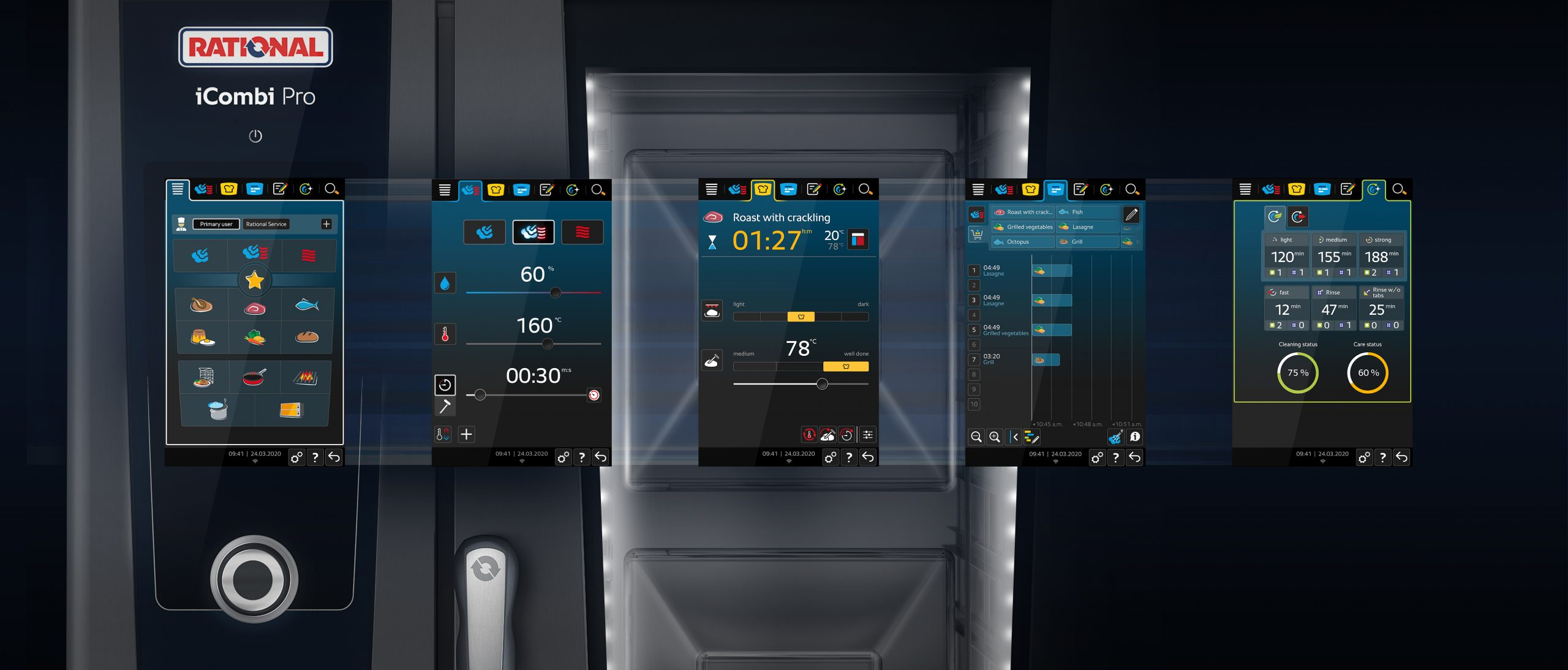 Rational iCombi Pro UI